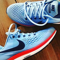 Nike Air Zoom Pegasus Lunar 34th Generation Running Shoes Man Sneskers
