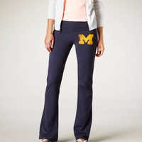 University of Michigan Vintage Yoga Pant | American Eagle Outfitters