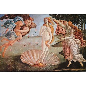 Sandro Botticelli Birth of Venus Poster 24x36
