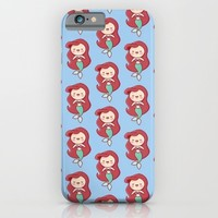 mermaid; iPhone & iPod Case by Pink Berry Patterns