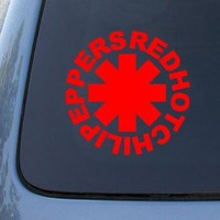 RED HOT CHILI PEPPERS  Vinyl Sticker Decal Car Window Vinyl Decal Sticker laptop