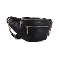 Belt Bag with Chain Detail
