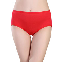Women Sexy Menstrual Period Leakproof Physiological Briefs Seamless Panties