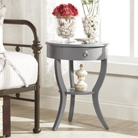 Kingstown Home Decatur 1 Drawer End Table