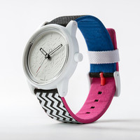 Quest & Quality Watch - Zig-Zag / Silver Dial