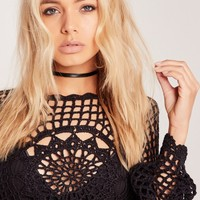 Missguided - Two Pack Chokers Snake Black