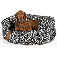 Bowsers Ritz Microvelvet Double Donut Dog Bed