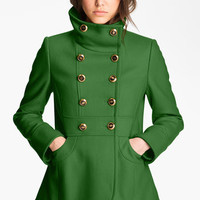 Kenneth Cole New York Double Breasted Peacoat | Nordstrom