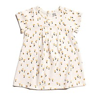 Winter Water Factory Yellow Tulips Girls Dress