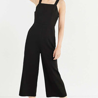 UO Square-Neck Structured Jumpsuit | Urban Outfitters