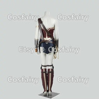 Wonder Woman Diana Cosplay Costume From Batman VS Superman