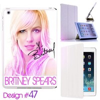 Custom # 47 IPad Air Smart Cover Britney Spears Leather case