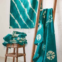 Tie-Dye Mudcloth Textile Tapestry