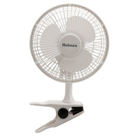 Holmes HCF0611A-WM Desk Clip Fan White