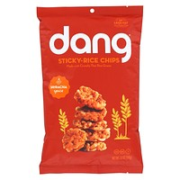 Dang - Sticky Rice Chips - Sriracha - Case Of 12 - 3.50 Oz