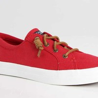 Sperry Top-Sider Crest Vibe Sneakers for Women in Red STS99248