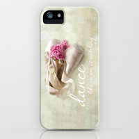 dance like no one is watching iPhone Case by Sylvia Cook Photography | Society6