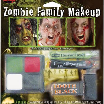 zombie family makeup kit Case of 3