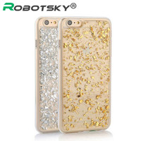 """Ultra-thin 3D Bling Gold Soft back phone case for iphone 6 6s 4.7"""" for iphone 6s / 6plus 5.5"""" PT7068"""