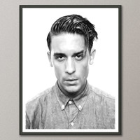 G Eazy Art Print, Instant Download, Watercolor Print, Poster