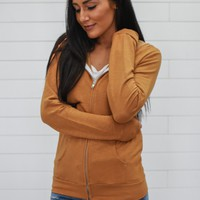 Way To My Heart Sweatshirt - Camel