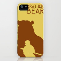 Brother Bear iPhone Case by Citron Vert | Society6