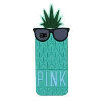 Suppion Hot Sale & Fruit Design Victoria Secret Lady Pineapple Skin Silicone Case Cover for Iphone 5 5g (sky blue)