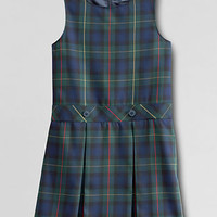 School Uniform Girls' Plaid Jumper from Lands' End