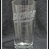 Big Bang Theory  -  Bazinga Pint