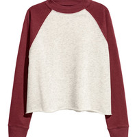 Short Sweatshirt - from H&M