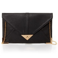 To Have and to Hold Black Clutch