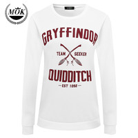 2016 Harajuku Gryffindor Quidditch Harry Potter Shirt Sweatshirt  Shirt Plus Size S M L XL
