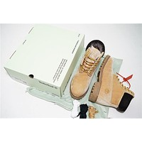 Virgil Abloh OFF-WHITE x Timberland 6 Inch Velvet Hiking Boots OWIA073E1747807
