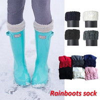 Royal Fleece Welly Long Stocking For Tall Rain Boots Liners Stocking quoted Stocking