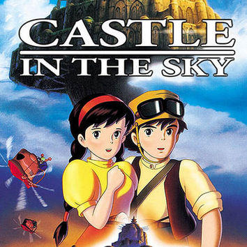 Castle in the Sky Anime Movie Poster 11x17