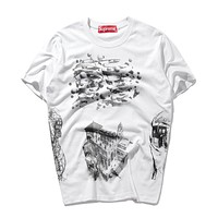 Cheap Women's and men's supreme t shirt for sale 85902898_0096