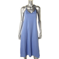 Lord & Taylor Womens Cotton Stretch Nightgown