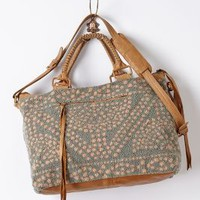 Layla Weekender by Cleobella Peach One Size Bags