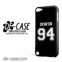 Irwin 94 5sos 5 Second Of Summer For Ipod 5 Case Phone Case Gift Present