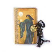 Goddess Journal - Pagan Scrapbook - Spiritual Memory Book