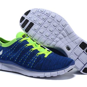 """""""Nike Zoom Fit Agility Flyknit5.0"""" Unisex Sport Casual Weave Sneakers Couple Running Shoes"""