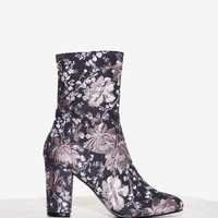 Nasty Gal Tibby Tapestry Boot