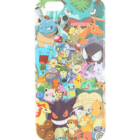 Loungefly Pokemon Characters Print iPhone 6/6s Case