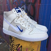 Soulland x SB Dunk High Pro'FRI.day Part 0.2' embroidered double hook high-top running shoes