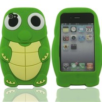 Peach 3D Pig Cartoon Animal Silicone Case Cover for iPhone 4 4G 4S:Amazon:Cell Phones & Accessories