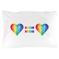 Love Equals Love Pillow Case> Love Equals Love> Sheldon To Mr Darcy Art by Alice Flynn