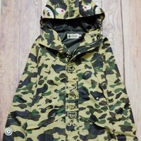 Plus Size Jacket Camouflage Embroidery Men's Fashion High Quality Windbreaker [10567305735]