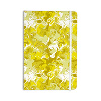 "Anneline Sophia ""Marbleized In Gold"" Yellow Everything Notebook"