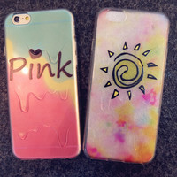Summer Melt iPhone 5s 6 6s Plus creative case Gift-146
