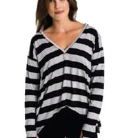 Feel The Piece Striped Holly Top   ShopAmbience
